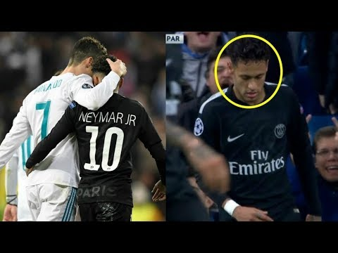 نيمار يتقرَّب ويحتضن لاعبي ريال مدريد