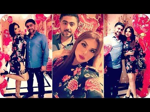 زوج الفنانة مها محمد يفاجئها في عيد الحب
