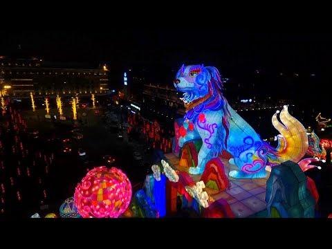 انطلاق مهرجان فوانيس الربيع في الصين