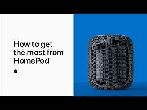 أبل تكشف عن فيديو جديد لشرح كيفية الاستفادة من مزايا homepod