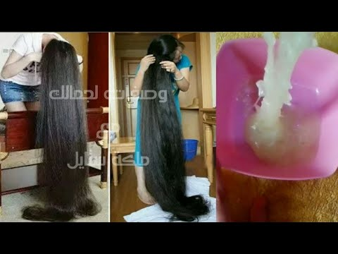 دهان مميز يعالج جميع مشكلات الشعر دون مجهود