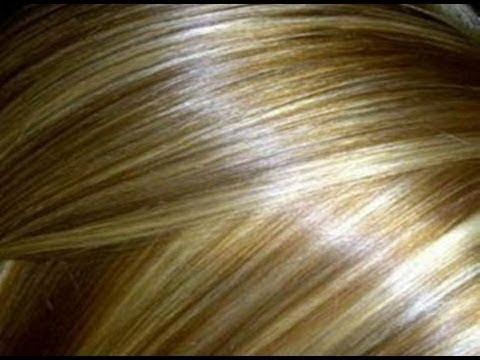طريقة الحصول على شعر أشقر ذهبي بصبغة طبيعية
