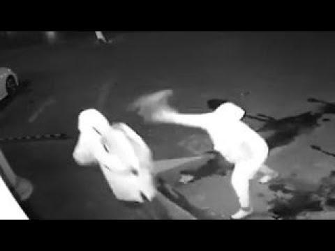 لص يكسر رأس زميله بالخطأ خلال سطو مسلّح