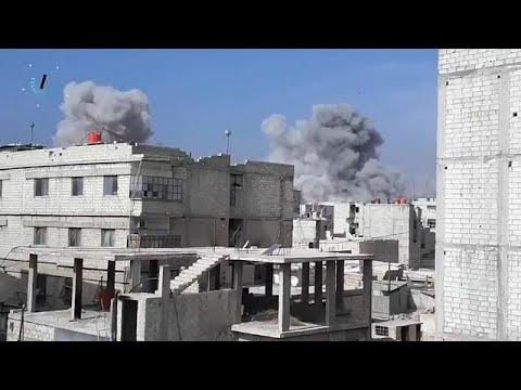 شاهد مقتل العشرات في قصف على الغوطة الشرقية