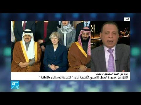 شاهد لماذا تعتبر زيارة ولي العهد السعودي لبريطانيا زيارة تاريخية