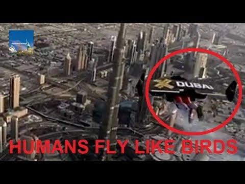 دبي تكشف عن رحلات طيران بواسطة طائرة شراعية معلقة