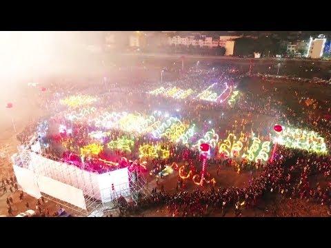 مهرجان المصابيح يزين سماء الصين