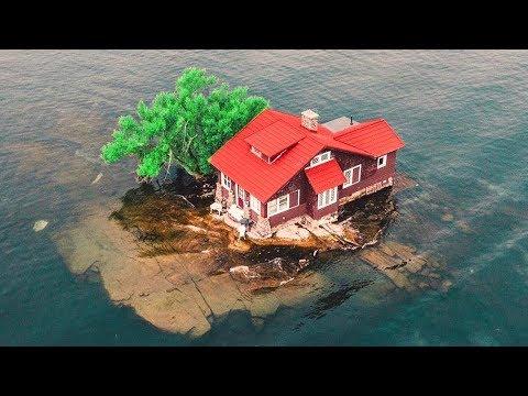 شاهد 10 منازل موجودة في أماكن مذهلة وخيالية