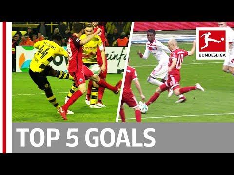 شاهد أبرز 5 أهداف في الجولة الـ26