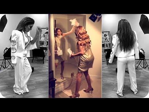 شاهد مريم حسين تثير الجدل بهذه الرقصة العجيبة
