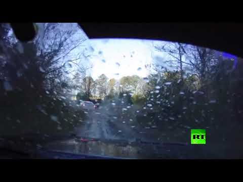 شاهد مطاردة ديناميكية بعيون سائق سيارة الشرطة في أميركا