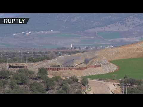 المدفعية التركية تضرب أهدافا كردية