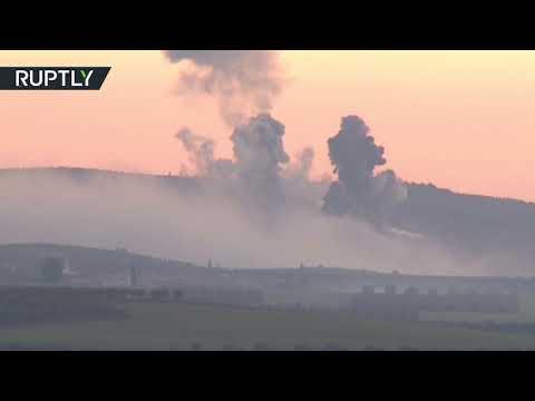 قصف تركي على عفرين شمال سورية