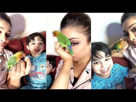 أبرار الكويتية تنشر لقطات طريفة مع ابنها