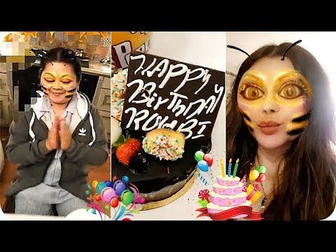 هيفاء وهبي تحتفل بعيد ميلاد خادمتها