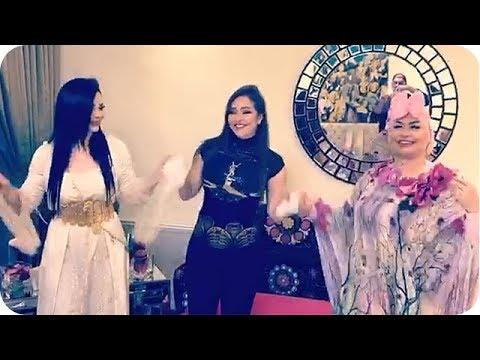 شاهد ديانا وزين وهيا كرزون يحتفلون بعيد الأم