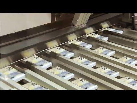 تعرف على أسرار طباعة النقود بالألات التكنولوجية