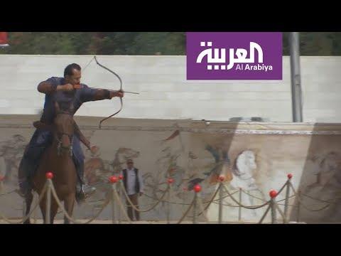 شاهدالرماية بالقوس رياضة تجذب الأردنيين