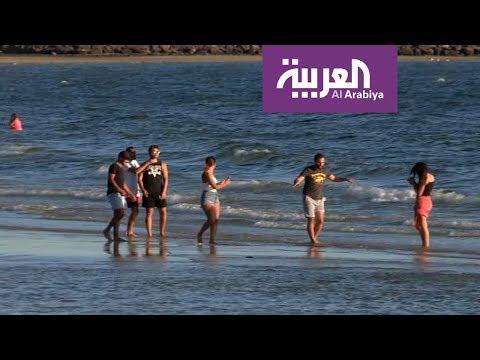 بالفيديو جولة على شواطئ ملبورن
