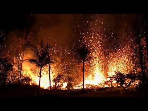 شاهد هدوء مؤقت لبركان كيلاويا يسمح لسكان هاواي بعودة سريعة لمنازلهم