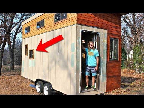 شاهد شكل أصغر بيت في العالم يثير إعجاب الجميع