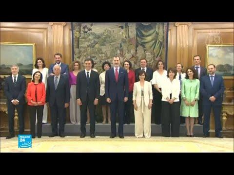 أكبر عدد من النساء في حكومة إسبانية عبر التاريخ