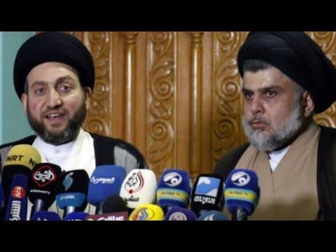 شاهدمقتدى الصدر يدعو العراقيين إلى التوحد بدل المطالبة بإعادة الانتخابات