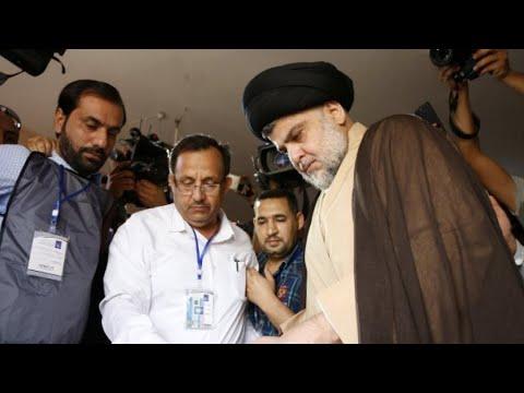 مقتدى الصدر يتحالف مع قائمة موالية لإيران