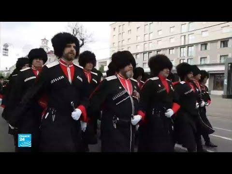 أفراد من مقاتلي القوقاز لتوفير الأمن في مونديال روسيا