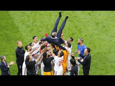 شاهد صحيفة ماركا تدعو إسبانيا للفرح بعد مباراة المغرب وإيران