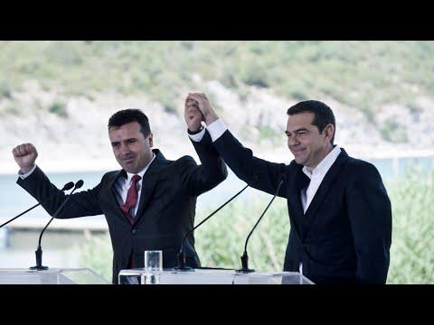 شاهد حكومة تسيبراس تنجو من حجب الثقة على خلفية الاتفاق حول تسمية مقدونيا