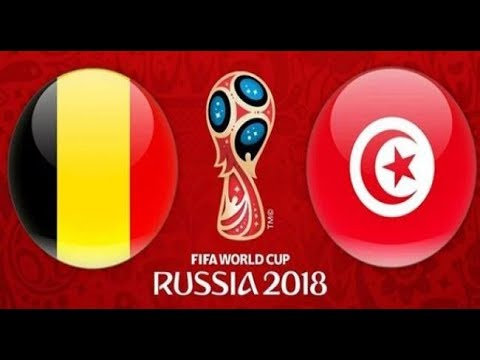 شاهد بث مباشر لمباراة تونس وبلجيكا ضمن مواجهات كأس العالم 2018