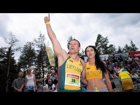 شاهد ليتوانيا تفوز ببطولة العالم لحمل الزوجات