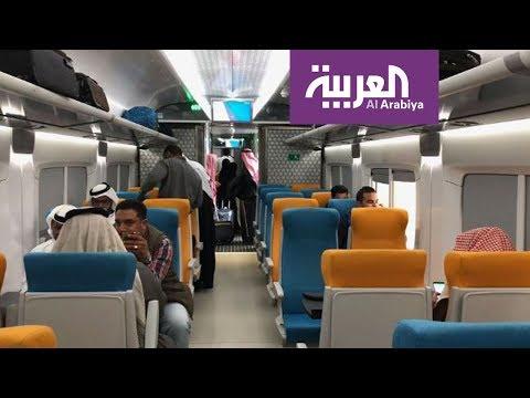 شاهدارتفاع رُكّاب قطارات السعودية بنسبة 139