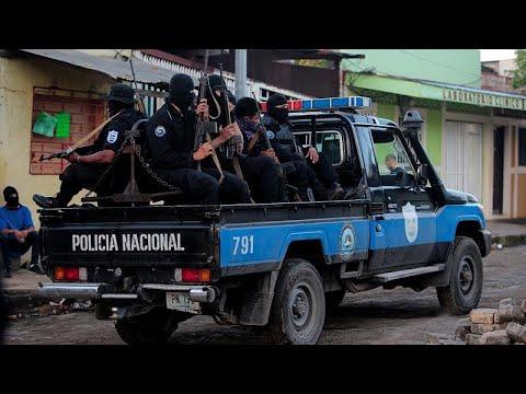 شرطة نيكاراغوا تتمكن من اقتحام معقلًا للمناهضين