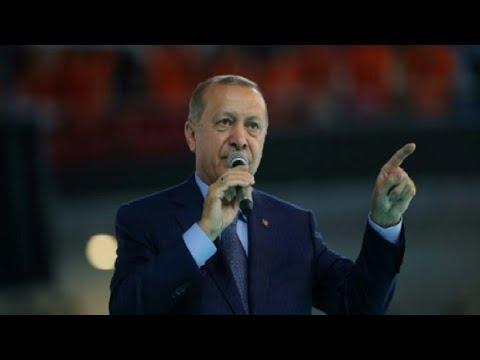 أردوغان يقوم بإجراءات مضادة ضد العقوبات الأميركية