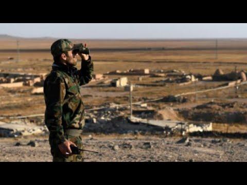 قوات النظام السورية تقصف منطقة جسر الشغور في محافظة إدلب