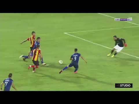 شاهد  هدف وليد أزارو في مرمى نادي الترجي التونسي