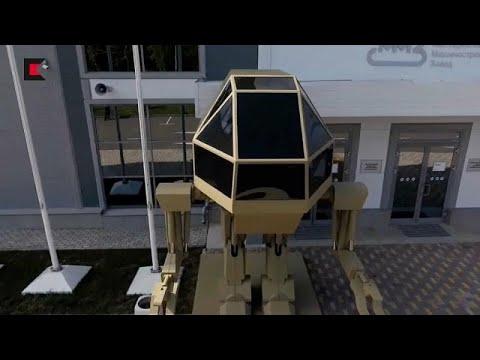 شاهد  الروبوت العسكري الروسي يثير السخرية على الإنترنت