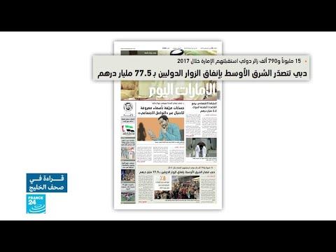 دبي تتصدر الشرق الأوسط بإنفاق الزوار الدوليين بنسبة 775 مليار درهم