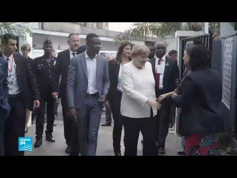 أقوى امرأتان في أوروبا تقومان بزيارتان في القارة الأفريقية