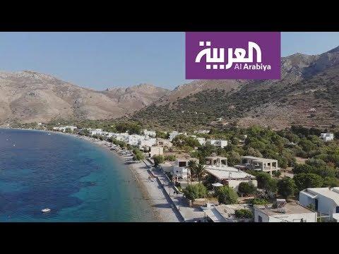 شاهد آلاف السياح يعلقون في اليونان بسبب قرار البحارة