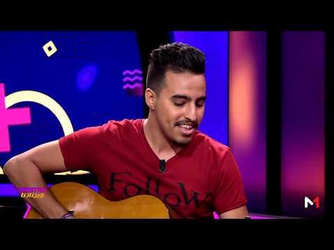 شاهد الفنان محسن صبيح يعزف مقاطع موسيقية على طريقته الخاصة