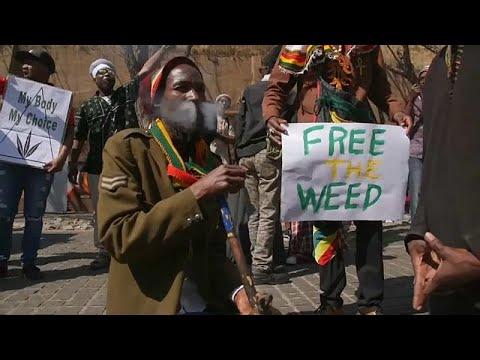 شاهد احتفالات في جنوب أفريقيا بعد تشريع استخدام الماريجوانا