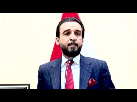 شاهد مشوار حافل لمحمد الحلبوسي رئيس البرلمان العراقي الجديد