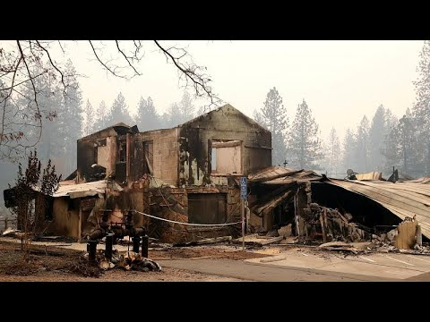شاهد تشرُّد أكثر من 300 ألف شخص في أميركا بسبب حرائق كاليفورنيا