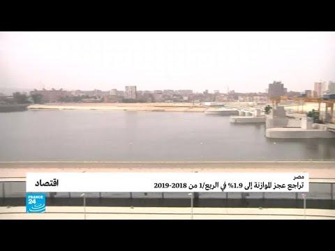 تراجع عجز الموازنة المصرية في الربع الأول من السنة المالية 2018