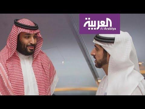 شاهد محمد بن سلمان يلتقي شخصيات عدة في أبوظبي