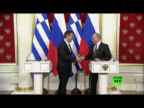 رئيس وزراء اليونان يطلب هدية من بوتين