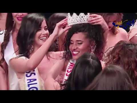 شاهد  اختيار خديجة بن حمو ملكة جمال الجزائر 2019 يُثير جدلًا على التواصل الاجتماعي